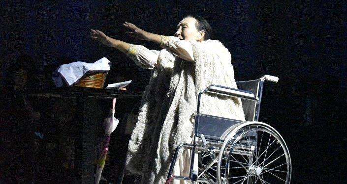 Кыргызстанские актеры выступили на театральном фестивале Сахнадан сәлем!, прошедшем в рамках международной выставки ЭКСПО-2017