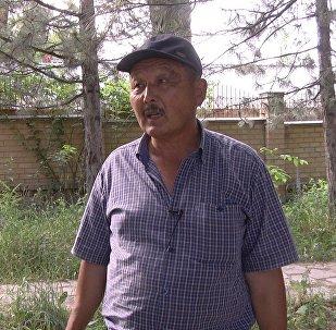 Киргизия-2 районунун тургуну Амандык Макелеев
