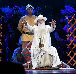Церемония открытия дней культуры Кыргызстана в России  в концертном зале Государственного Кремлевского дворца