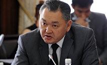 Архитектура, курулуш жана турак жай-коммуналдык чарба мамлекеттик агенттигинин директор орун басары Алмазбек Абдыкаровдун архивдик сүрөтү