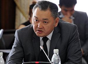 Заместитель директора Государственного агентства архитектуры, строительства и жилищно-коммунального хозяйства Алмазбек Абдыкаров