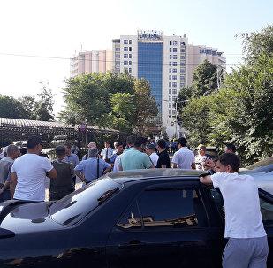 Конфискация отеля Ак-Кеме в Бишкеке