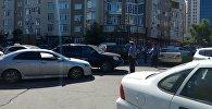 Ситуация около отеля Ак-Кеме в Бишкеке