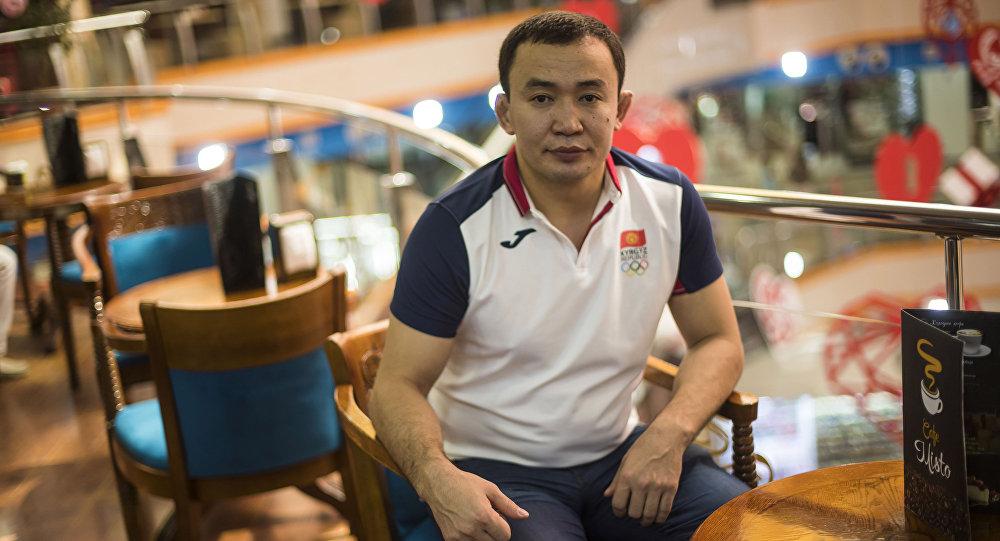 Серебряный призер Олимпийских игр в Пекине Канатбек Бегалиев