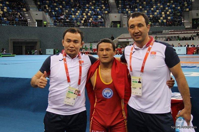Серебряный призер Олимпийских игр в Пекине Канатбек Бегалиев на Азиатских играх
