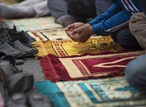 Праздничное богослужение в Бишкеке началось в 7.00