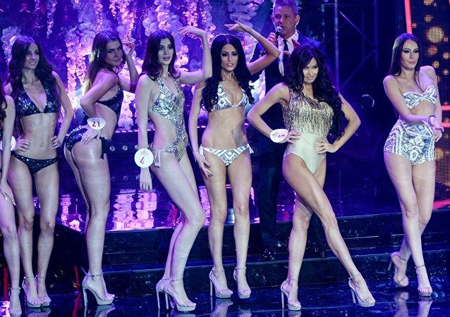 Финал всероссийского конкурса красоты Мисс Русское радио