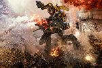 Это изображение, выпущенное Paramount Pictures, показывает Bumblebee сцену из фильма Трансформеры: последний рыцарь