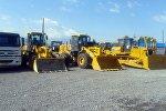Спецтехника из Китая для реконструкции автотрассы Бишкек — Кара-Балта