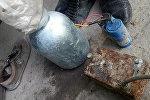 Самодельные взрывные устройства (СВУ), найденные у задержанных членов МТО
