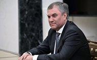Архивное фото председателя Государственной Думы РФ Вячеслава Володина