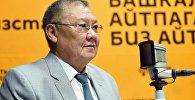 КРдин коопсуздук жана чек ара маселелери боюнча мурдагы вице-премьери, Кыргызстан элинин ассамблеясынын төрагасы Токон Мамытов