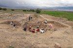 Нарын облусунун Кочкор районунда XI кылымга таандык жер алдындагы тарыхый курулушта археологиялык иштер башталды