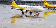 Самолет японской авиакомпания эконом-класса Vanilla Air. Архивное фото