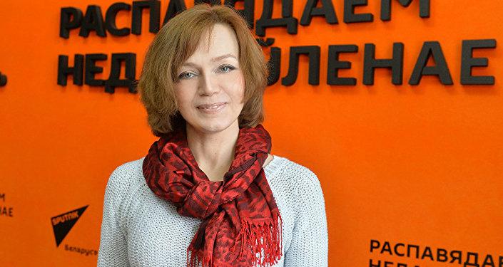 Тренер-психолог международного класса Лилия Ахремчик во время интервью на радио Sputnik Беларусь