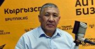 Назначенный начальником ГУВД Бишкека назначен Бакыт Матмусаев. Архивное фото