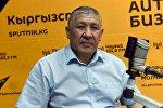 ИИМдин Баңгизатты мыйзамсыз айлантууга каршы күрөшүү кызматынын жетекчиси Бакыт Матмусаев. Архив