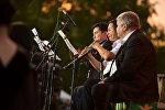 Музыканты фестиваля классической музыки под открытым небом в парке Победы имени Д. Асанова в Бишкеке. Архивное фото