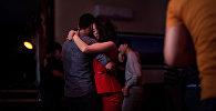 Танцующая пара. Архивное фото