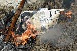 Лидер террористической группировки Исламское государство Абу Бакра аль-Багдади