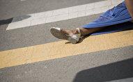Ноги женщины. Архивное фото
