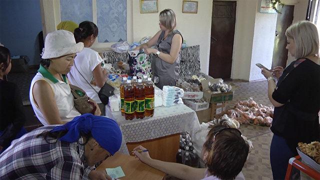 В Бишкеке появился бесплатный магазин для нуждающихся 17a59785feb