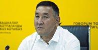 Бишкек шаардык капиталдык курулуш башкармалыгынын башчысы Нурлан Эшенбаев