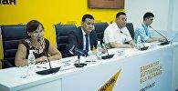 Пресс-конференция Вырубка деревьев в Бишкеке — позиция мэрии