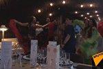 Диего Марадону встретили в Москве цыганскими плясками