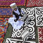 VII международном фестивале Кыргыз шырдагы в Ат-Башинском районе