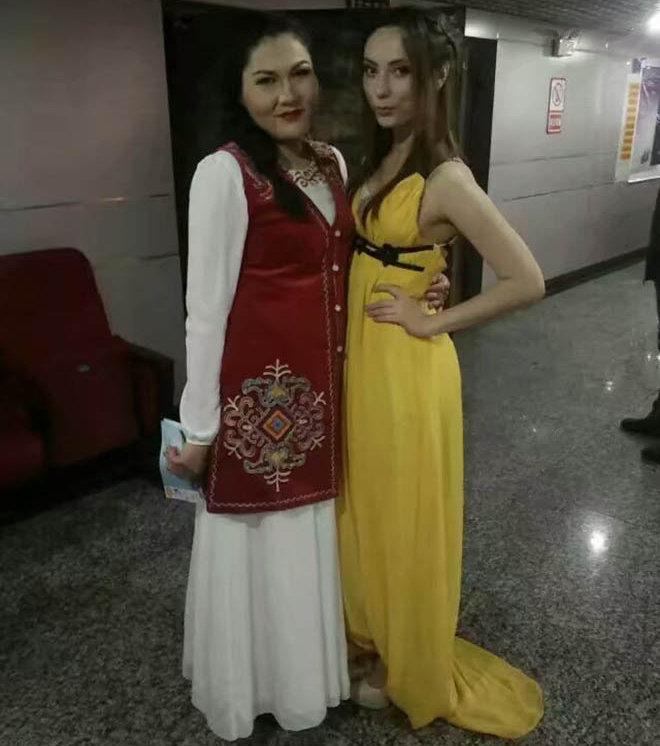 Этническая кыргызска из Китая Таннуру Мухаммет