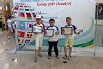 Кыргызстан Түркияда өткөн менталдык арифметика боюнча эл аралык олимпиадада биринчи орунду ээледи