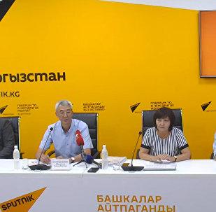 Деятельность аэропортов обсудили в пресс-центре Sputnik Кыргызстан