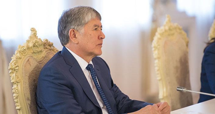 Глава государства отметил, что визит Матвиенко в КР — это приезд настоящего друга.