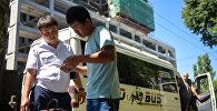 Бишкек шаарындагы Жүргүнчүлөр транспорту аттуу рейд