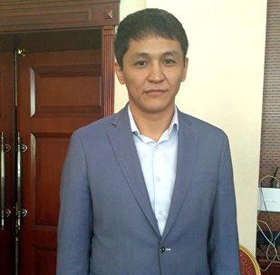 Председатель Государственного комитета информационных технологий и связи Нурбек Абасканов. Архивное фото