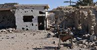 Разрушенный дом в сирийском городе Арак. Архивное фото
