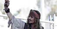 Архивное фото голливудского актера Джонни Деппа