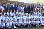 Танцы, манкурты и душа кыргызского народа — визит Матвиенко в КР
