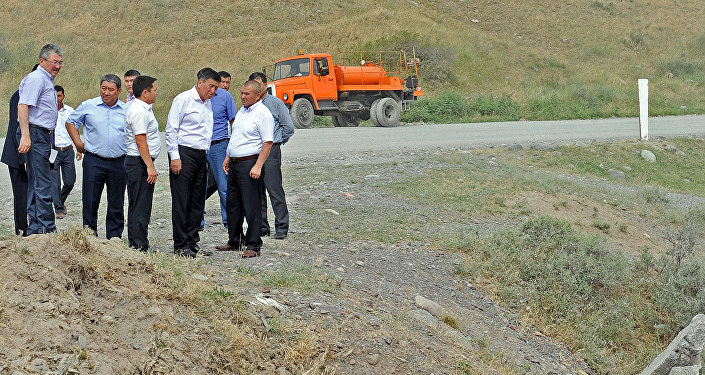 Рабочая поездка премьер-министра КР Сооронбая Жээнбекова в Чуйскую область