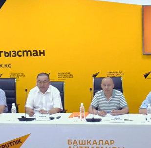 Открытие центров гемодиализа обсудили в пресс-центре Sputnik Кыргызстан