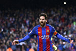 Испаниянын Барселона клубунун футболчусу Лионель Мессинин архивдик сүрөтү