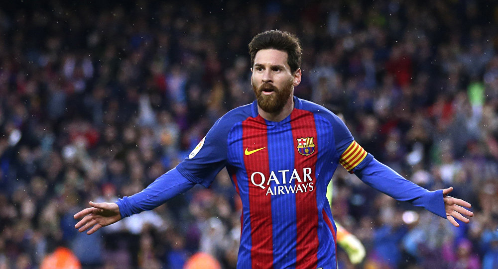 Архивное фото известного футболиста ФК Барселоны Лионеля Месси