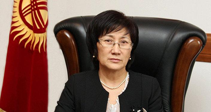 Председатель Верховного суда Айнаш Токбаева