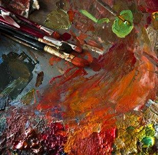 Краска. Архивдик сүрөт