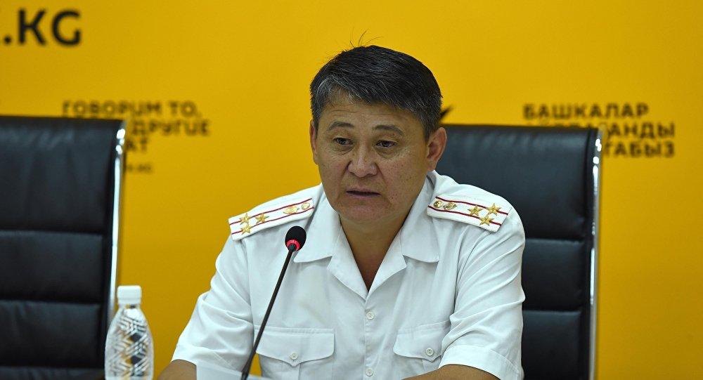 Заместитель начальника Главного управления ПМ МВД Ыманалы Саркулов