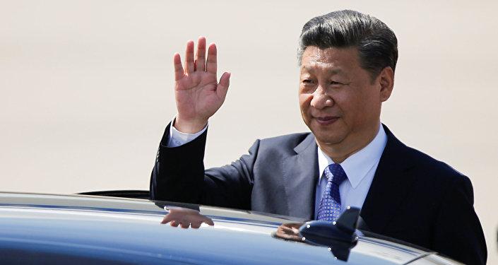 Кытайдын жетекчиси Си Цзиньпин. Архивдик сүрөт