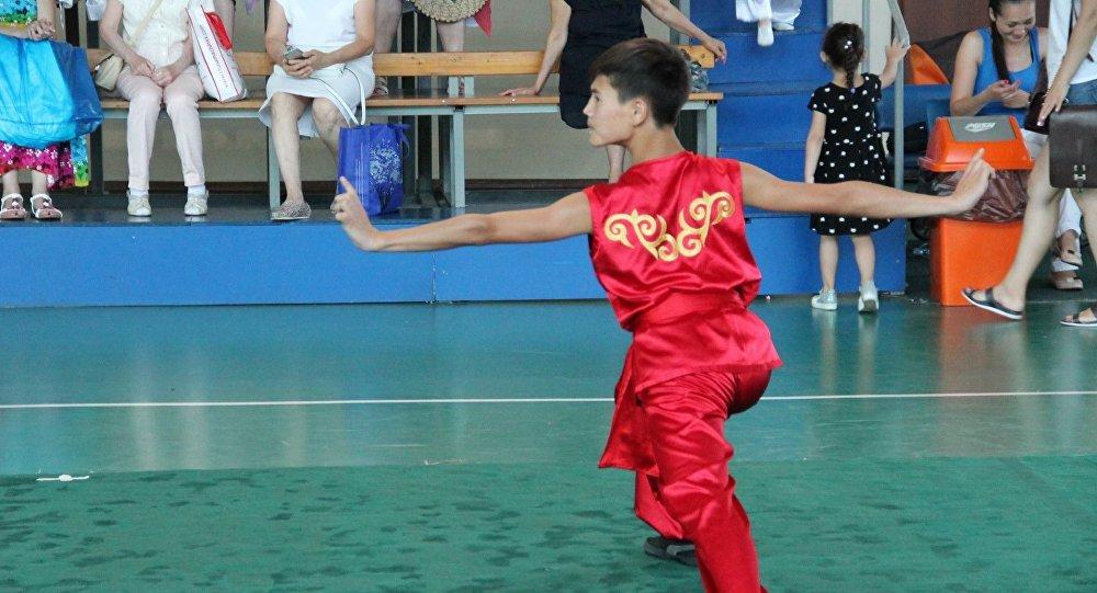 Казакстанда өткөн ушу боюнча турнирде кыргызстандык спортчулар 20 медаль утушту