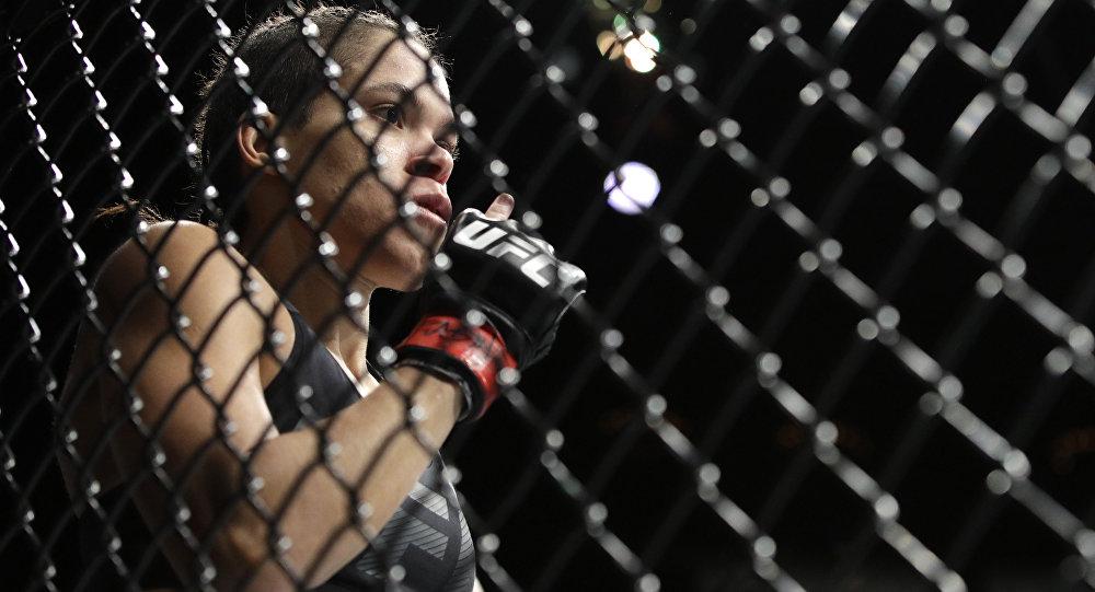 UFC чемпиону Аманда Нуньес. Архивдик сүрөт