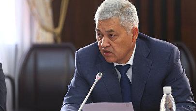 УКМКнын Коррупцияга каршы күрөшүү кызматынын башчысы Дүйшөнбек Чоткараевдин архивдик сүрөтү